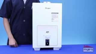 Calentador de agua ahorrador de gas whirpool