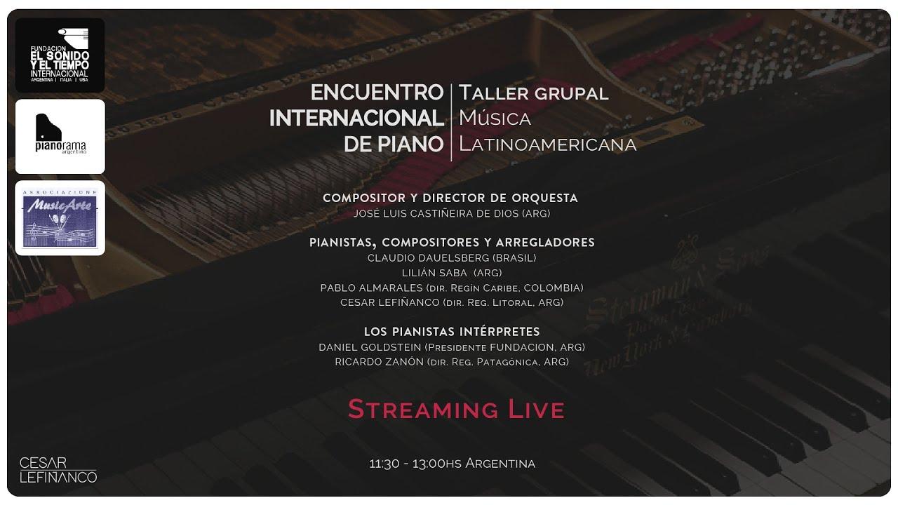 Encuentro Internacional de Piano