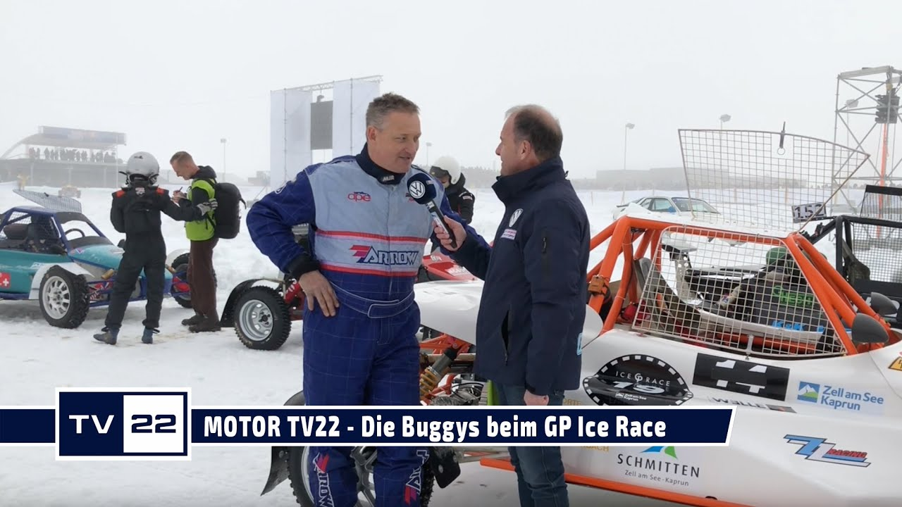 MOTOR TV22: GP ICE Race 2020 in Zell am See - Wolfgang Zobl und die Buggys
