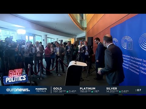 Euronews's political editor Darren McCaffrey asks Manfred Weber the hard hitting questions