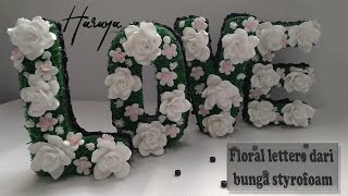 Rangkaian Bunga Huruf I Standing love floral letter screenshot 3