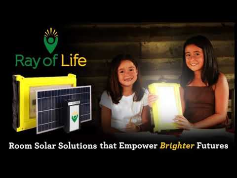 New Vision Be A Light 4 Puerto Rico Solar Light Campaign