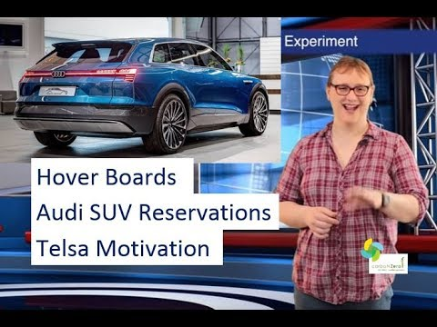 ecoTEC 4: Automakers use Tesla to motivate staff, Audi ELECTRIC SUV taking reservations