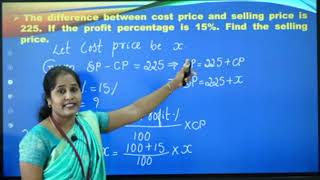I PUC |Basic maths | Percentage, Profit and loss-05