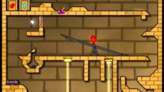 Играем во Flash-игры (Огонь и вода 2: Светлый храм)(В этом видео мы с Котом играем в Flash-игру Огонь и вода Канал..., 2015-06-14T17:57:23.000Z)