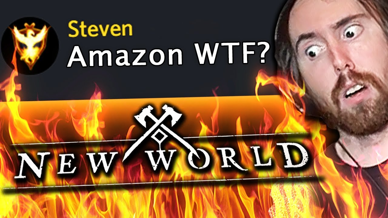 Amazon ROASTED by Ashes of Creation for MMO Cash Shop! Asmongold on New World Drama