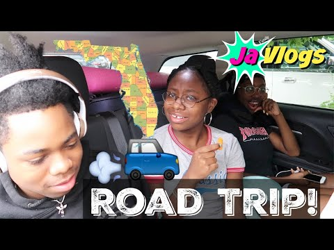 ROAD TRIP TO FLORIDA | Orlando Family Vacation | Day 1