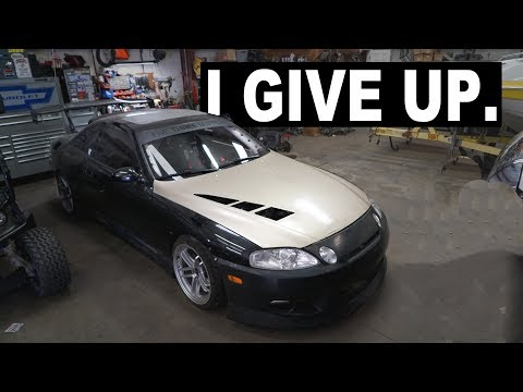 I'M GIVING UP... I'm sorry 1JZ Lexus