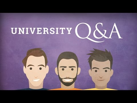 University Q&A – Another Chat with My Friends Simon and Jamie
