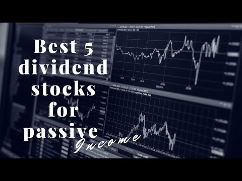 Best monthly dividend stocks for passive income 2020