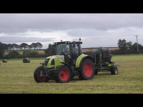 Simpson Agri Contracts Wrapping bales - DJI - HD