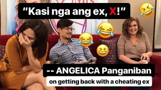 """""""Kasi nga ang ex, X!""""   Judy Ann and Angelica's FUNNY reaction to getting back with a cheating ex-BF"""