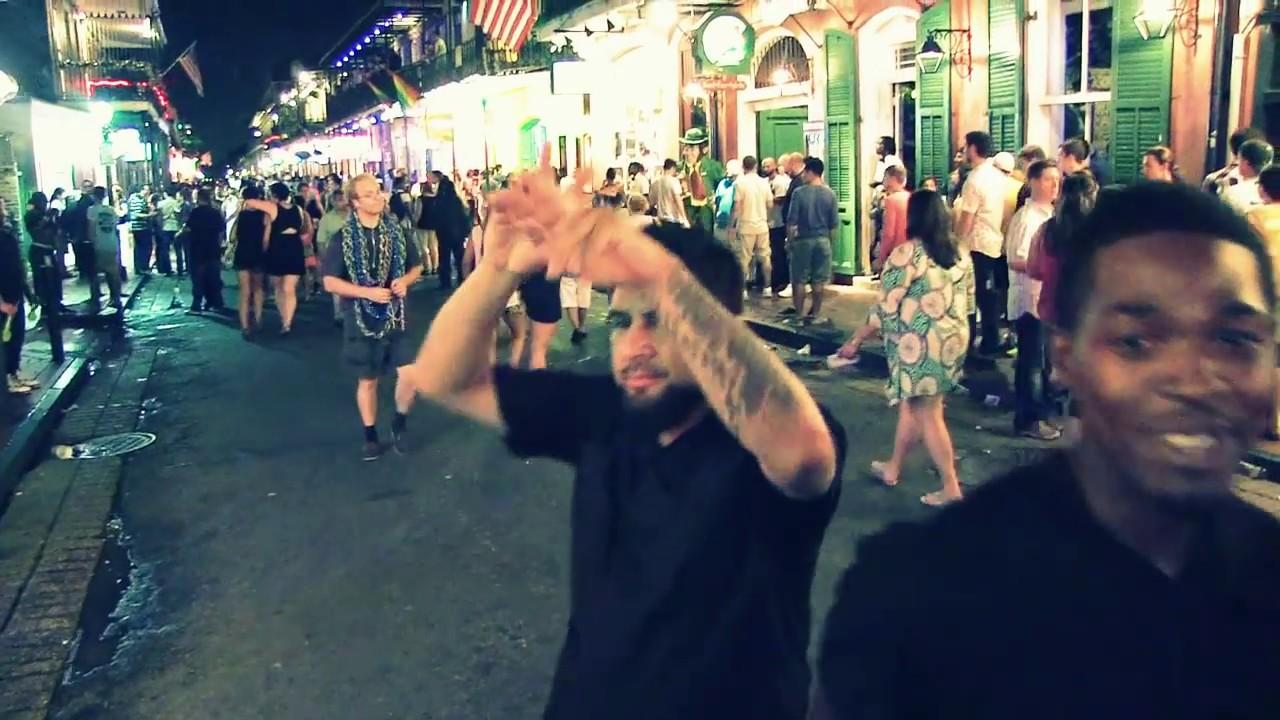 Bourbon Street life, New Orleans - Audio-visual exploration