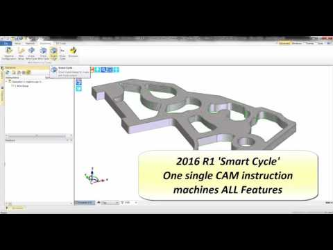 Edgecam 2016R1 | Wire EDM Smart Cycle
