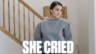 EMOTIONAL DELIVERY | SHE CRIED