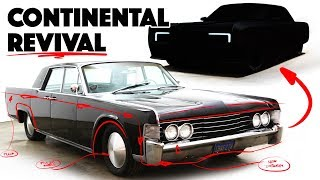I Re-design the 1965 Lincoln Continental Into a Modern Car