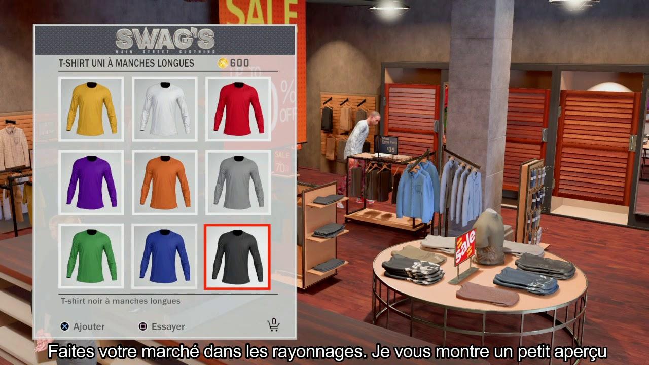 Vêtements À Patche Changer Nba2k18 Astuce Youtube De L'infini wqq6FI
