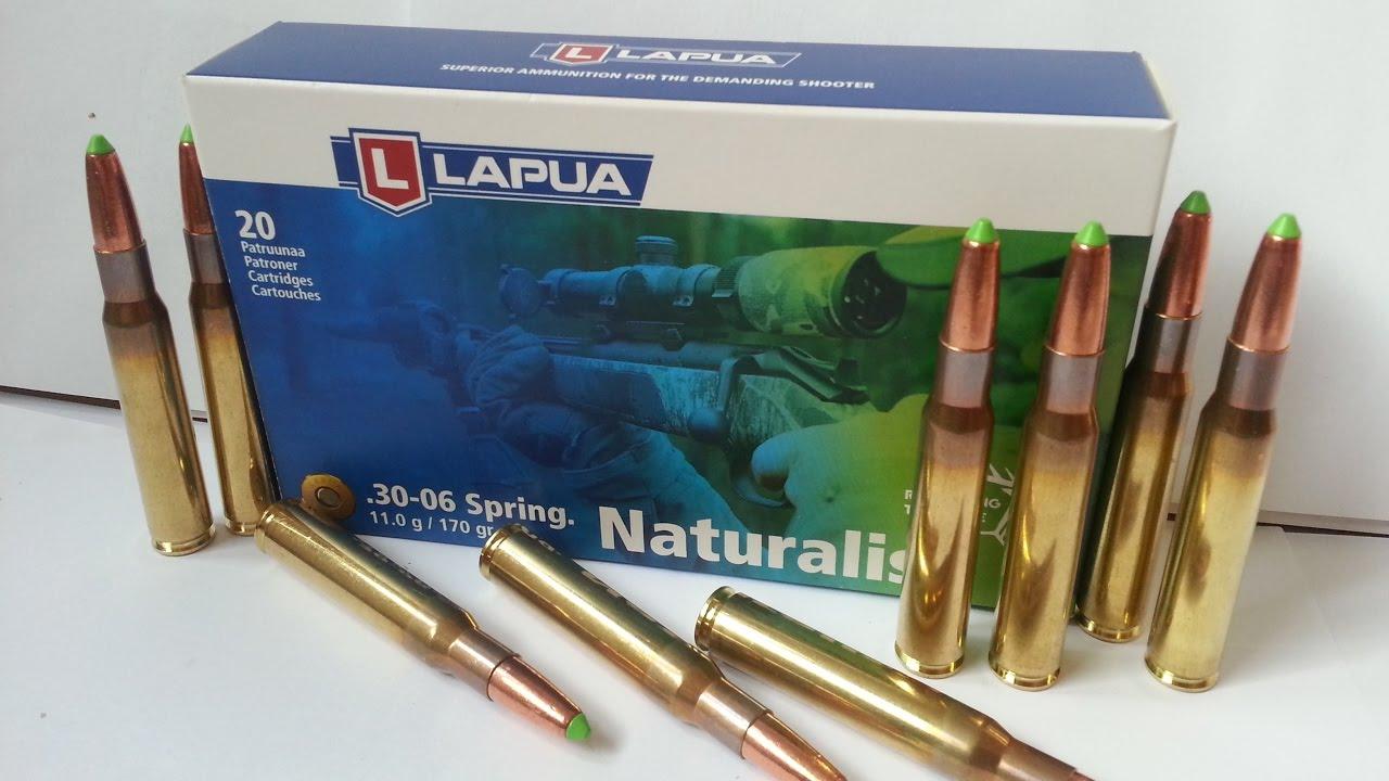 Lapua Naturalis Lead Free Bullet 3rd Generation 30-06 Springfield