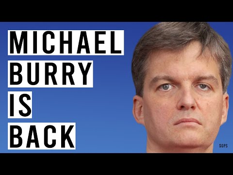 The Big Short Michael Burry Back on Twitter With THIS Message!