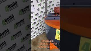 Обзор бетонозмішувач примусової дії / бетономешалка, растворосмеситель принудительного действия