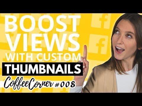 Custom Youtube Thumbnails | Coffee Corner 008 | Video Marketing Insights