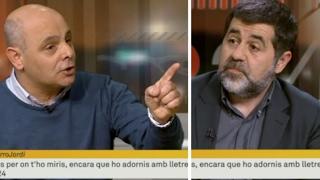 Un comunista contra todos en TV3 por el juicio a Artur Mas