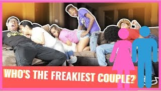 WHO'S THE FREAKIEST COUPLE!? **HILARIOUS** (THABADKIDS & and FUNNYMIKE)