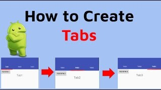Android Tab Tutorial [Android Studio Tab Fragments]