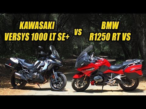 rich-niches:-2019-bmw-r1250-rt-vs-kawasaki-versys-1000-lt-se+-luxo-adventure-tour-off