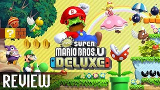 New Super Mario Bros. U Deluxe - WiiU auf der Switch | Review / Test | LowRez HD