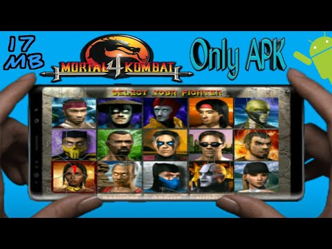 {Only APK}How To Download & Install Mortal Kombat 4 Game For Android  Devices(Urdu /Hindi)|17MB Game|