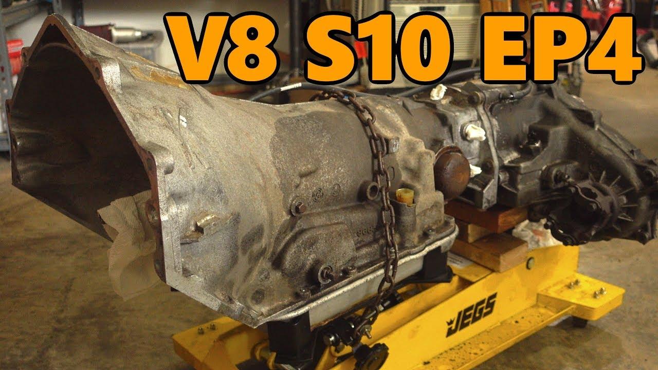 Rebuild Automatic Transmission >> 4x4 V8 S10 700R4 Transmission Rebuild & Tune (Ep.4) - YouTube
