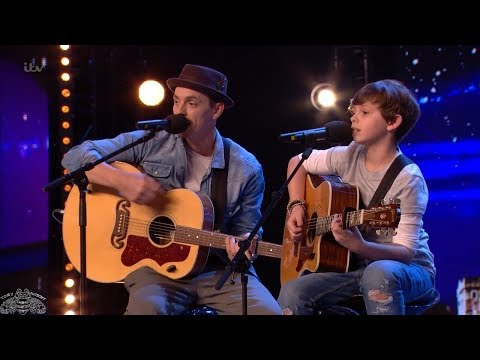 Britain's Got Talent 2018 Jack & Tim Adorable Father & Son Duet Full Audition S12E03