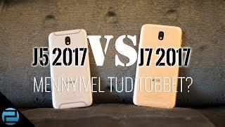Samsung Galaxy J5 (2017) és J7 (2017) összehasonlítás