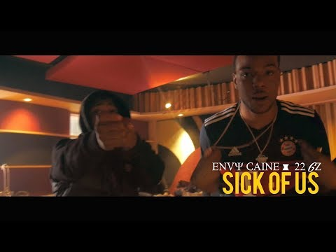 Envy caine Ft. 22Gz - Sick of us (In-Studio performance) (Dir. By Kapomob Films)