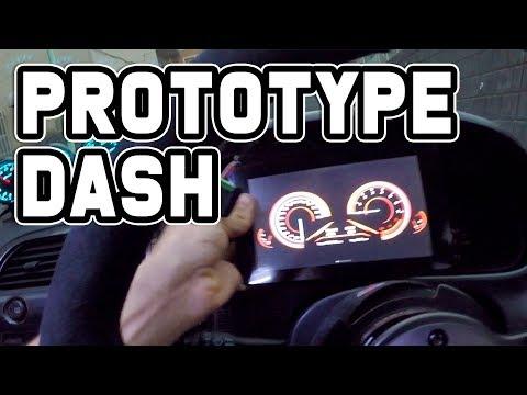 Prototype Digital Dash for the Skyline!