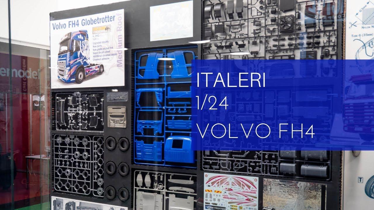 Italeri Volvo FH4 Globetrotter Medium Roof LKW Truck 1:24 Bausatz Model Kit 3942