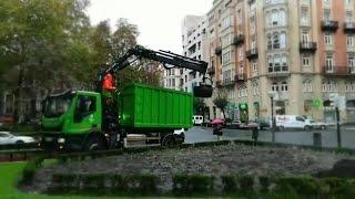 El Ayuntamiento de Bilbao renueva el sustrato de sus jardines