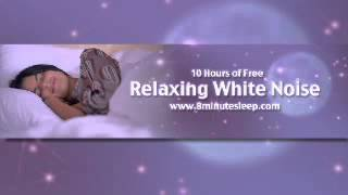 Fall Asleep Fast! 10 Hours of White Noise. Increase focus, soothe a baby, meditate