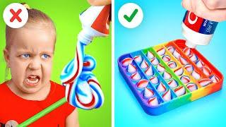 BEST PARENTING LIFE HACKS || Smart Tips for Parents
