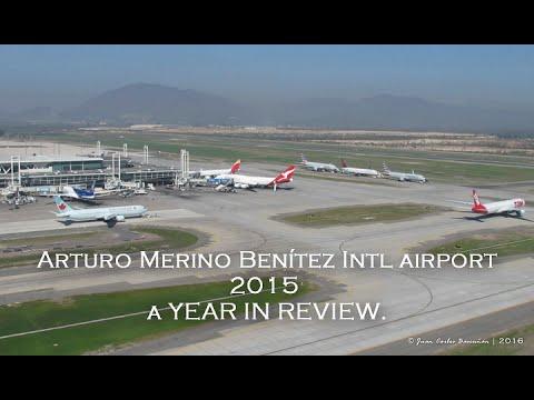 SCL/SCEL aeropuerto de Santiago de Chile - 2015 A YEAR IN REVIEW
