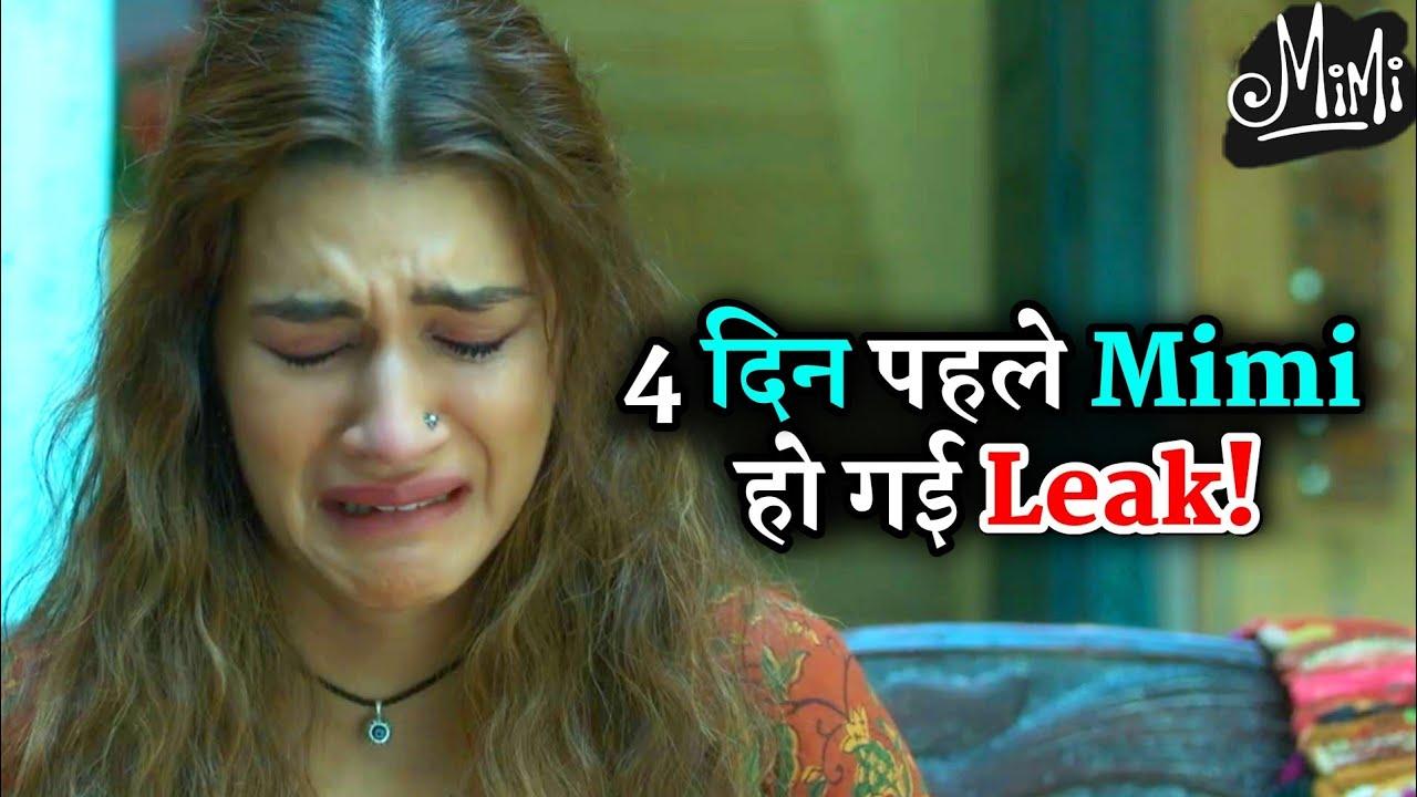 Shocking Kriti Sanon Film Mimi Online Leak Before 4 Day Of Netflix Release