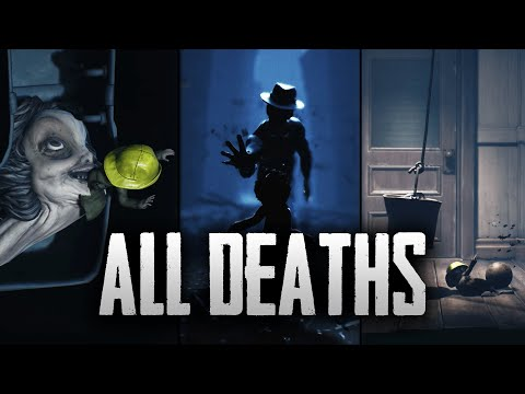 Little Nightmares 2 - All Mono DEATH Scenes + All Death Animations