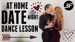 Valentines Day Dance Lesson at Home | At Home Date Night Idea!
