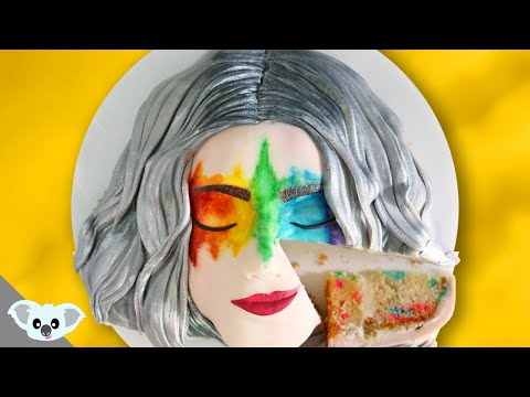 Rainbow Beauty Cakes  | Amazing Cosmetic Makeup Cake Ideas | Koalipops