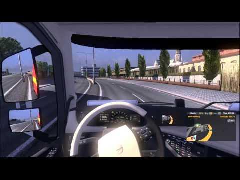 Bài 2: Hướng dẫn căn đường, lùi xe với ETS2 - Euro Truck Simulator 2