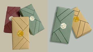 Gift Wrapping| 禮物盒包裝教學-傳統型3.0(風呂敷款)