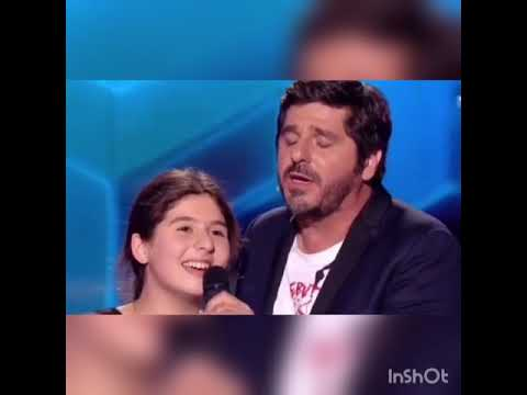 The Voice Kids - Patrick Fiori chante Dle Yaman avec la candidate Ermonia