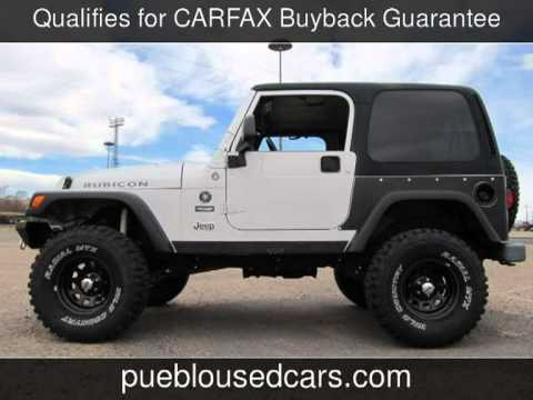 2005 jeep wrangler rubicon 4x4 2 door rubicon used cars. Black Bedroom Furniture Sets. Home Design Ideas