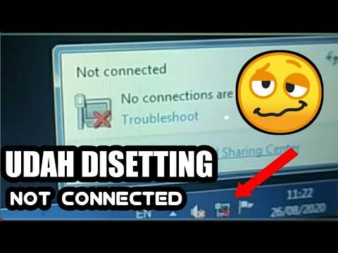 Tutorial #1: Cara memperbaiki wifi laptop yang tidak bisa connect tethering dan  wifi..